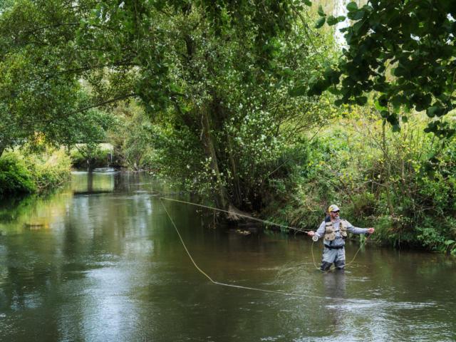 Pêche Dans La Touques ©Julien Boisard