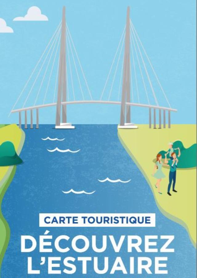 Carte Touristique Pole Metropolitain De L'estuaire De La Seine