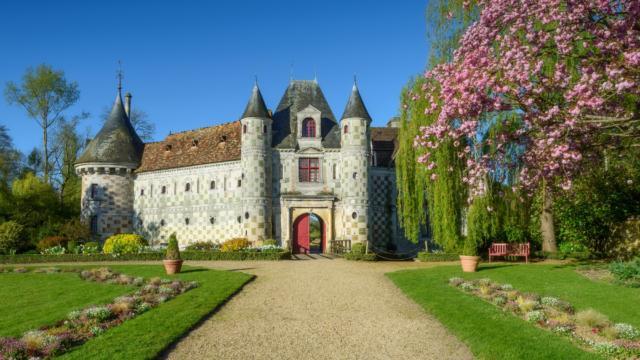 Chateau De Saint Germain De Livet Allée