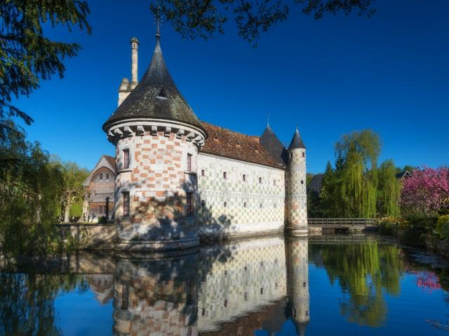 Chateau De Saint Germain De Livet Douves