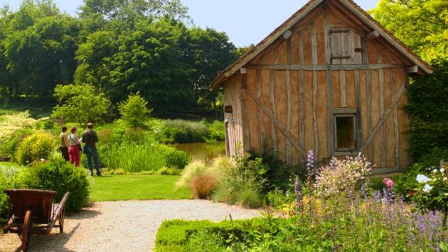 Jardins Pays D'auge Cambremer Colombages
