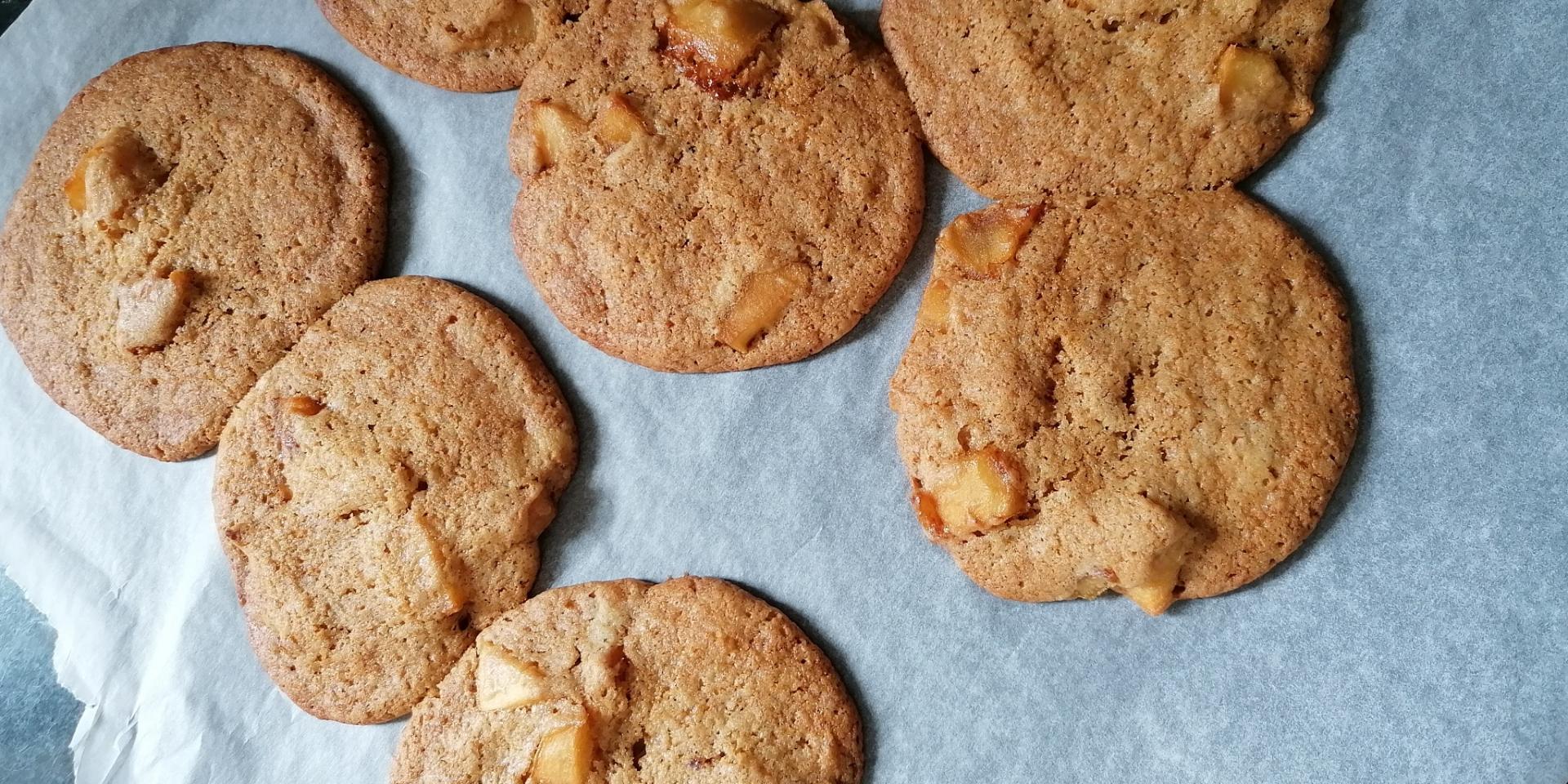 Cookies Aux Pommes Tout Chaud